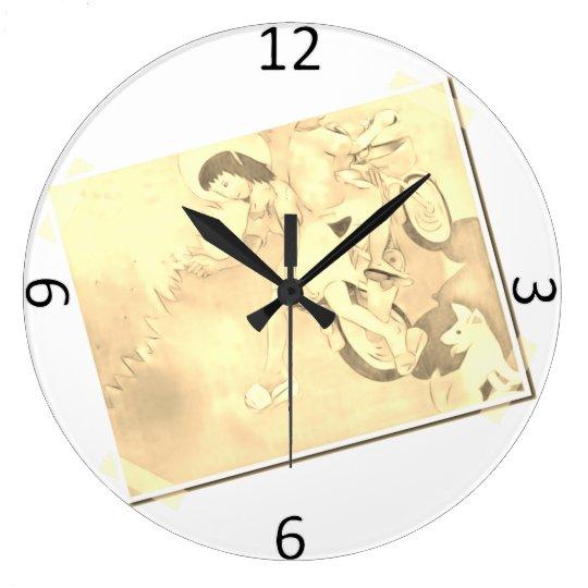Reloj Redondo Grande Días inocentes