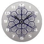 Reloj Redondo Grande Diseño organizativo muy Bonito y elegante