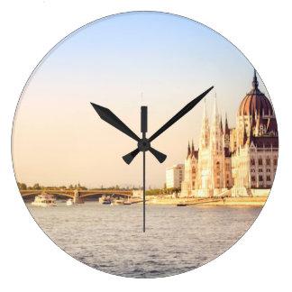 Reloj Redondo Grande El parlamento de Budapest