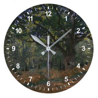 Reloj Redondo Grande El roble de Bodmer, bosque de Fontainebleau