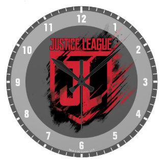 Reloj Redondo Grande Escudo cepillado el | de la pintura JL de la liga