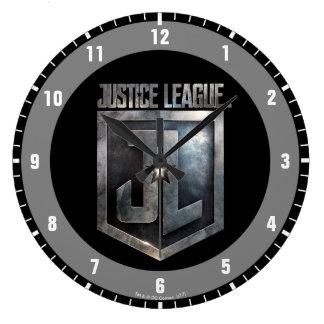Reloj Redondo Grande Escudo metálico de la liga de justicia el | JL