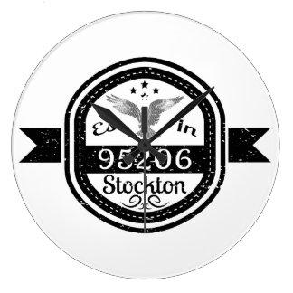 Reloj Redondo Grande Establecido en 95206 Stockton