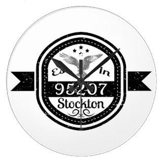 Reloj Redondo Grande Establecido en 95207 Stockton