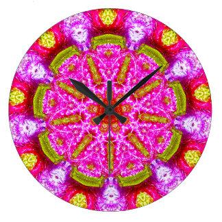 Reloj Redondo Grande Fractal de la venda
