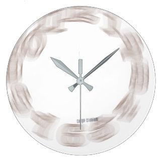 Reloj Redondo Grande Friki del Hacer girar-Hacia fuera-de-Control