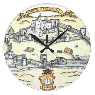 Reloj Redondo Grande Guardia medieval