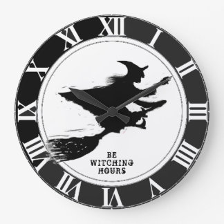 Reloj Redondo Grande Halloween divertido