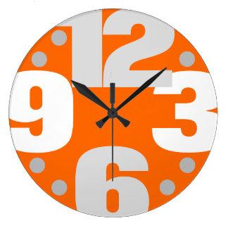 Reloj Redondo Grande La primera línea