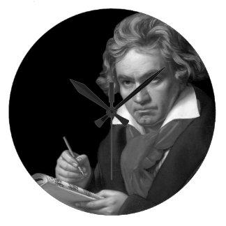 Reloj Redondo Grande Ludwig van Beethoven
