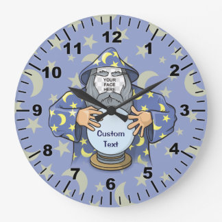 Reloj Redondo Grande Mago con su cara