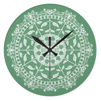 Reloj Redondo Grande Mandala sabia