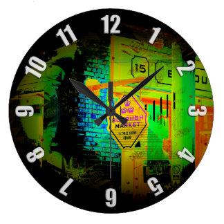 Reloj Redondo Grande Mercado de la ciudad - Londres, Inglaterra