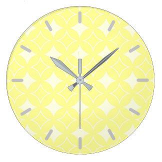 Reloj Redondo Grande Modelo amarillo limón del shippo
