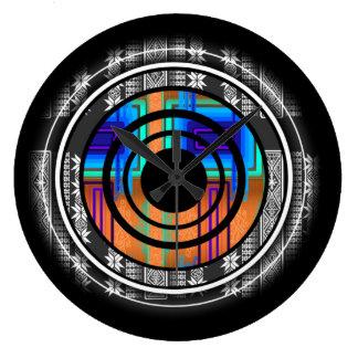 Reloj Redondo Grande Monograma futuro nórdico