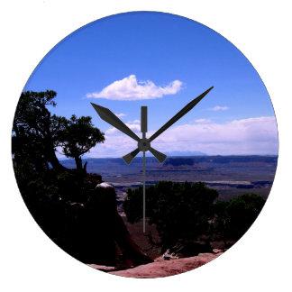 Reloj Redondo Grande Montañas de Canyonlands y de LaSal