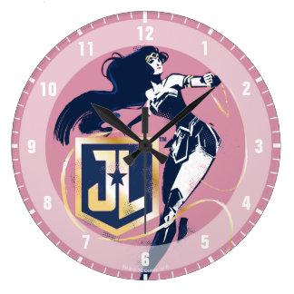 Reloj Redondo Grande Mujer Maravilla de la liga de justicia el | y arte