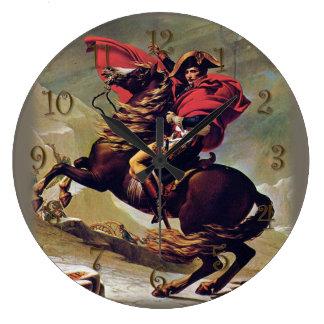 Reloj Redondo Grande Napoleon a caballo