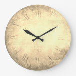 Reloj Redondo Grande Número romano victoriano vintage