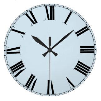 Reloj Redondo Grande Números romanos adaptables simples