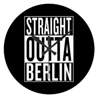 Reloj Redondo Grande outta recto Berlín