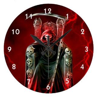 Reloj Redondo Grande Parca en su trono