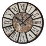 Reloj Redondo Grande Pared de cocina antigua romana