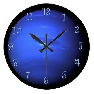 Reloj Redondo Grande Planeta Urano
