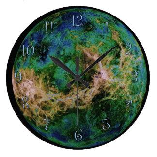 Reloj Redondo Grande Planeta Venus