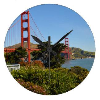 Reloj Redondo Grande Puente Golden Gate en San Francisco California