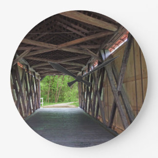 Reloj Redondo Grande Puente interior Hillsboro Missouri de la cala de
