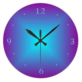Relojes de pared morado - Relojes grandes pared ...