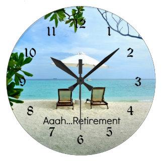 Reloj Redondo Grande Retiro de Aaah…