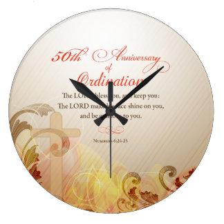 Reloj Redondo Grande Sacerdote, 50.o aniversario de la bendición de la