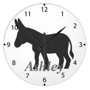 Relojes De De es Pared Relojes BurroZazzle 3RcqjSAL54