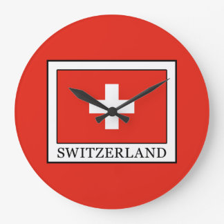 Reloj Redondo Grande Suiza