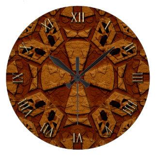 Reloj Redondo Grande Tallas de piedra antiguas