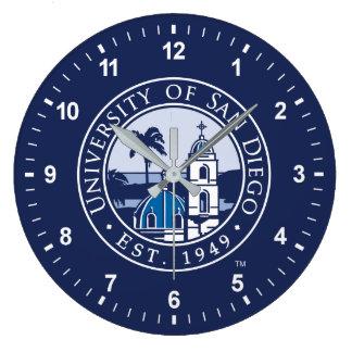 Reloj Redondo Grande Universidad de San Diego el | Est. 1949