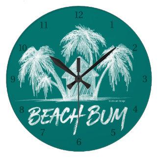 Reloj Redondo Grande Vago de la playa
