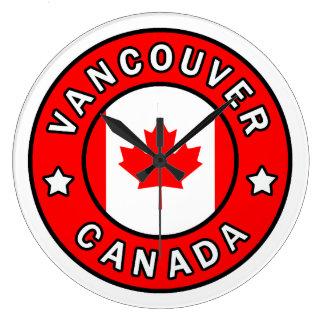 Reloj Redondo Grande Vancouver Canadá