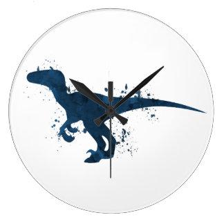 Reloj Redondo Grande Velociraptor