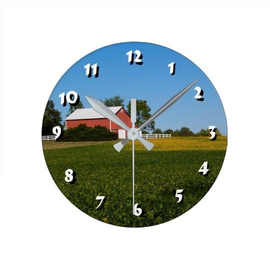 Reloj Redondo Mediano 12 opciones del número para elegir - el