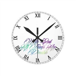 Reloj Redondo Mediano 19:26 de Matthew