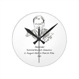 Reloj Redondo Mediano Alexander Konstamtinovich Glazunov 1918