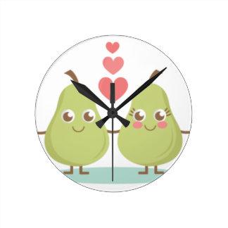 Reloj Redondo Mediano Ame, los regalos de boda perfectos de los pares,