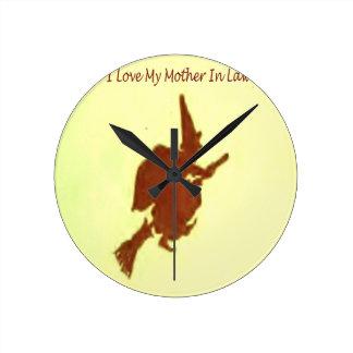 Reloj Redondo Mediano Amo a mi suegra