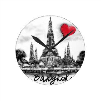 Reloj Redondo Mediano Amo Bangkok