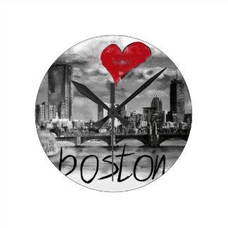 Reloj Redondo Mediano Amo Boston