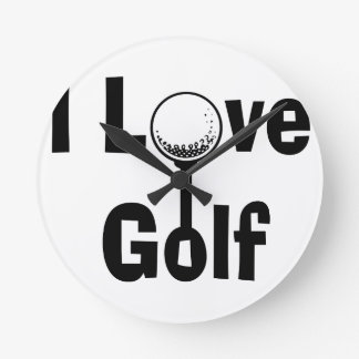 Reloj Redondo Mediano Amo golf