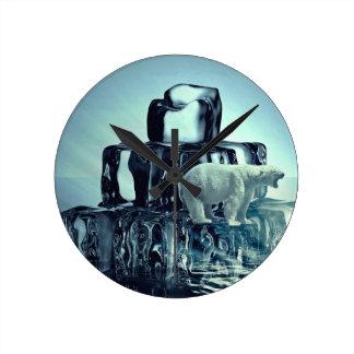 Reloj Redondo Mediano Añada para poseer LEMA para ahorrar el planeta